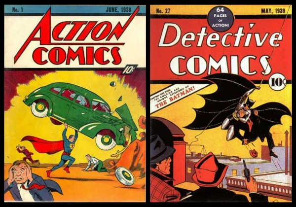 comic books - great depression