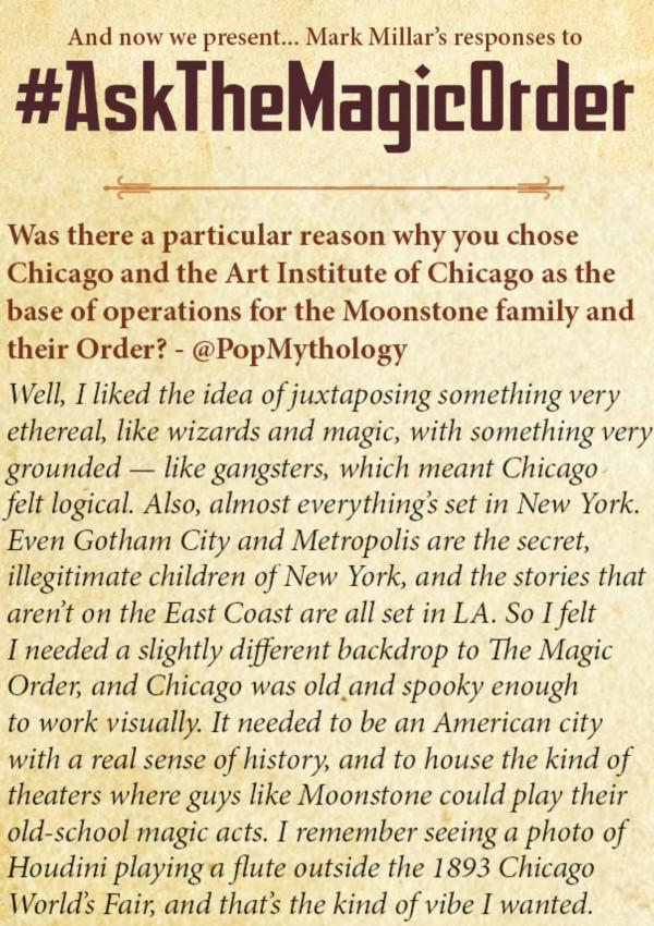 the magic order #5