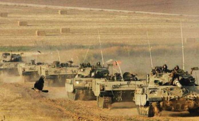 19 lug carri armati israeliani a Gaza
