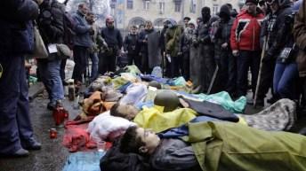 Marzo, Kiev.