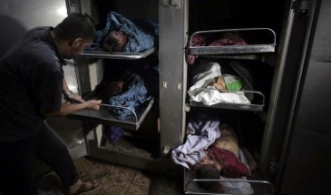 I due genitori e quattro bambini. Un'intera famiglia sterminata da una bomba.