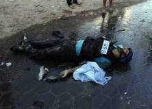 Un giornalista giordano ucciso dal fuoco di terra israeliano.