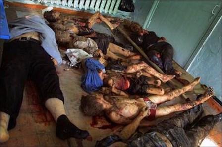 Un'intera famiglia russa è stata uccisa per rappresaglia da un commando jihadista.