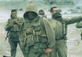 Un commando di Sptsnaz, uno dei corpi d'élite delle forze armate russe. I soldati non mostrano mai il proprio volto per paura di ritorsioni ai propri familiari.