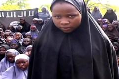 Una delle studentesse sequestrate da Boko Haram.