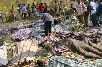 Massacro compiuto dai paramilitari Salwa Judum.