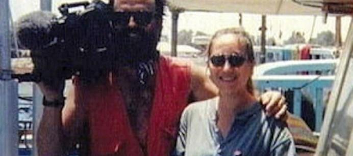 Miran Hrovatin e Ilaria Alpi, morti in Somalia il 20 marzo 1994.