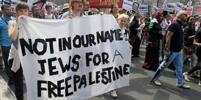 «Non in nostro nome. Ebrei per una Palestina libera».