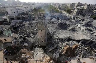 Quest'isolato di Gaza City non c'è più.