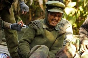 Guerriglieri dell'Esercito per l'indipendenza dei kachim (Kia).