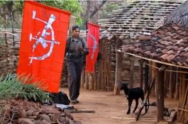 Un villaggio controllato dai maoisti.