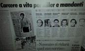 """L'articolo de """"Il Mattino"""" sulla sentenza che ha condannato gli assassini di Siani."""