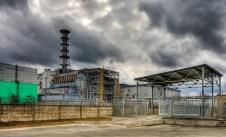 Il reattore 4 della centrale di Chernobyl.