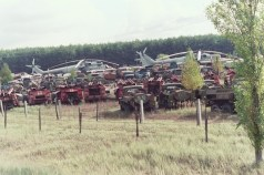 A Rossokha sono stati abbandonati sistemi d'arma per un valore complessivo di quaranta milioni di dollari del 1986.