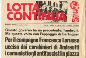 Francesco Lorusso: processo mancato, giustizia negata