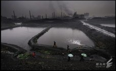 01 lago tossico di Baotou, Cina