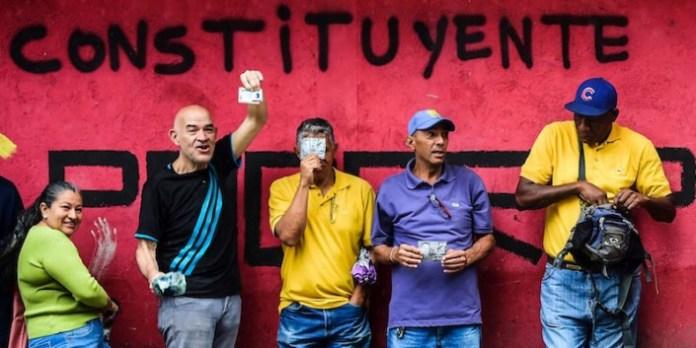 TOPSHOT-VENEZUELA-CONSTITUENT-ASSEMBLY-VOTE