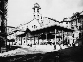 Mercato di Piazza del Carmine (ieri)