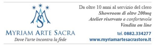 Myriam arte sacra website
