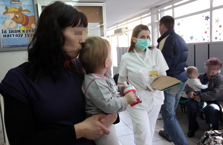 Visok intenzitet virusa gripa - Najveći broj obolelih u našoj zemlji beleži se kod dece u uzrasnoj grupi do četiri godine