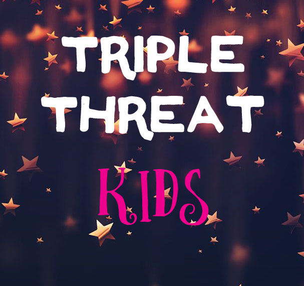 Triple Threat Kids: 1st-3rd Grade: July 10 – 21 from 1 – 4:30 pm