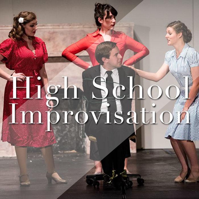 HS Improv: Thursdays 6:00-7:00pm