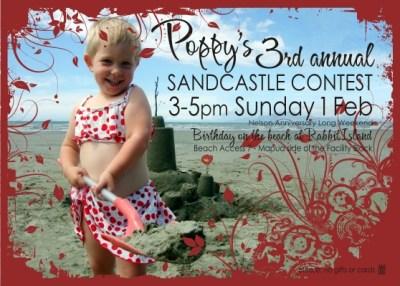 Poppy's Invitation (front)
