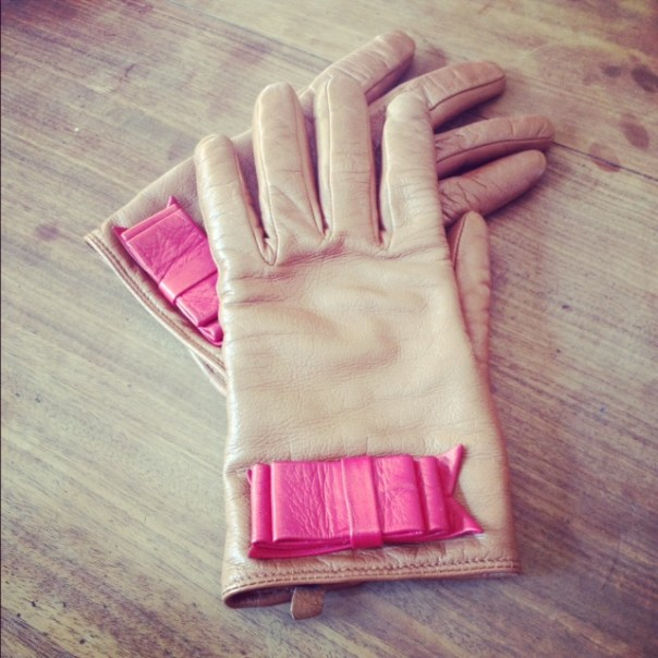 I love my gloves from Ted Baker