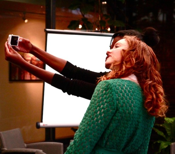 Everybody wants a selfie...