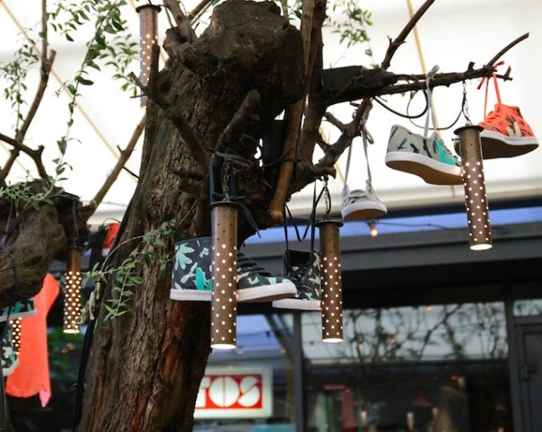 It's a shoe tree!