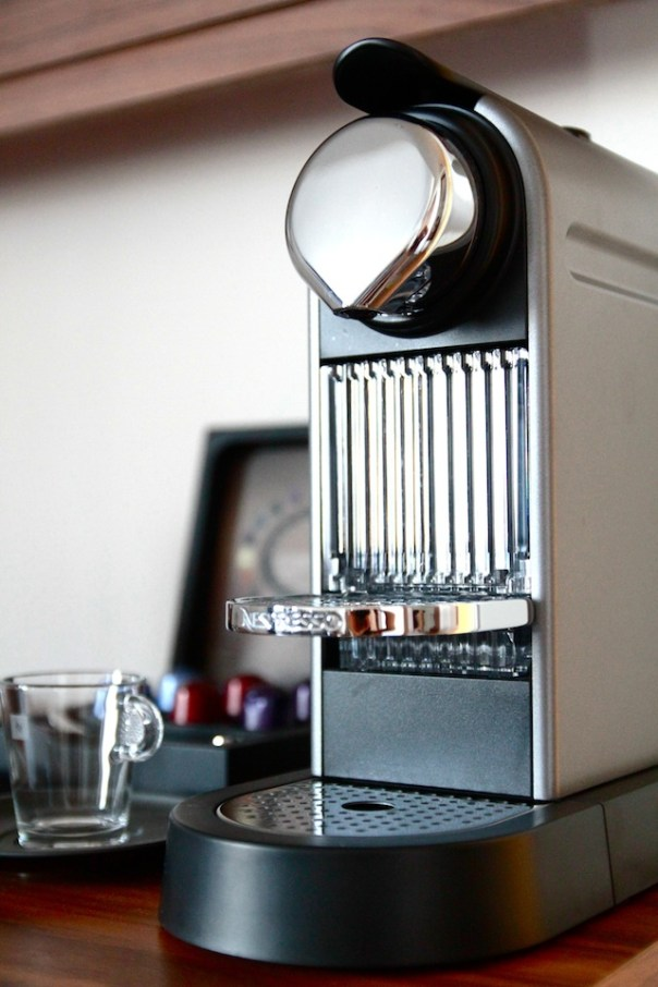 Coffee and Tea Making Facilities, including this gorgeous Nespresso machine