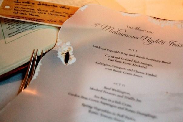 A Midsummer Night's Feast at The Montagu, Hyatt Churchill