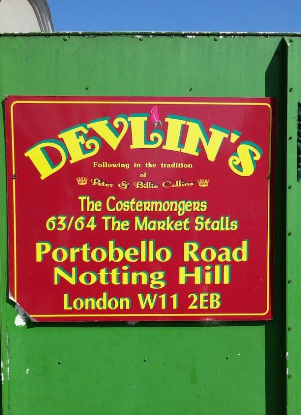 Devlin's - Portobello Road Market