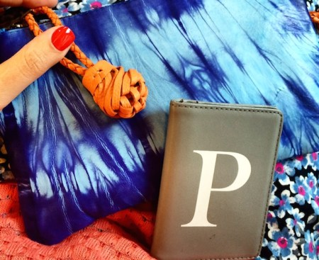 Anthropologie bag with Oliver Bonas Oyster Card Holder - Poppy Loves