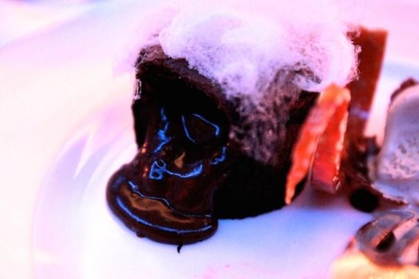 Oooozy chocolate fondant -heaven