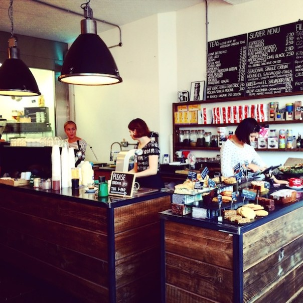 The Coffee Works Project in Islington