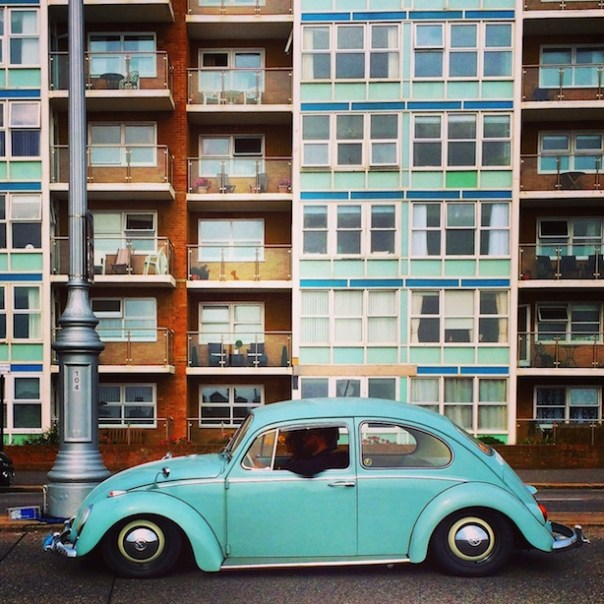 Beetle in Brighton