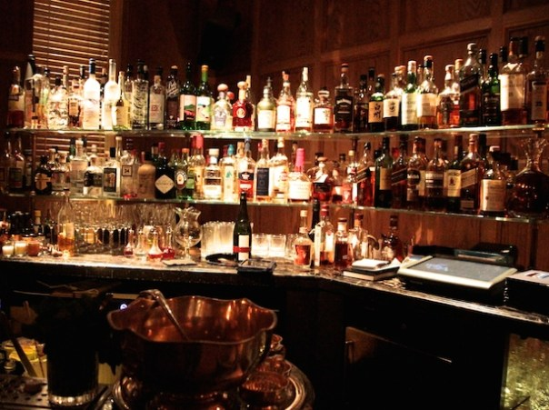 The bar in the Punch Room at The London EDITION