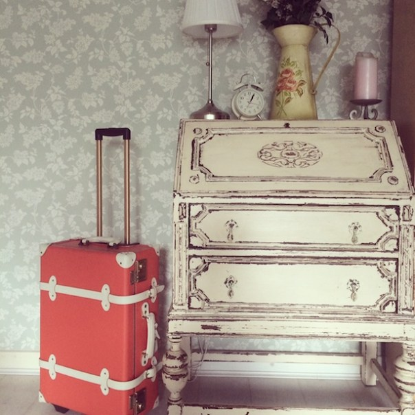 My beautiful new suitcase from Steamline Luggage