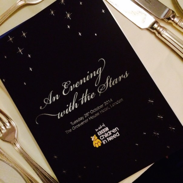 An evening with the stars - children in need
