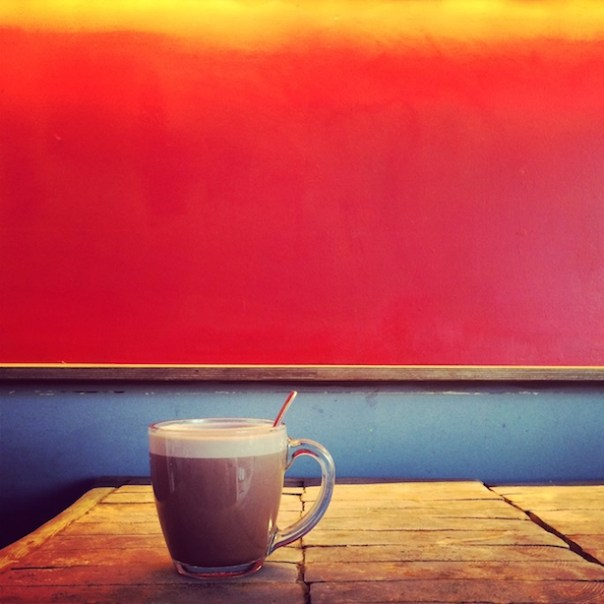 Hot chocolate at Park Theatre, Finsbury Park