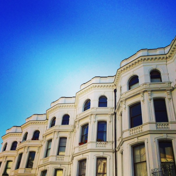 Beautiful buildings in Notting Hill