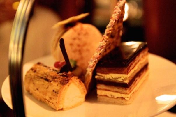 Chocolate and Orange Opera Cake
