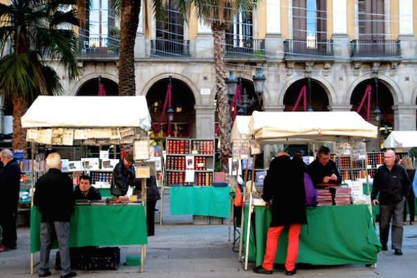 Stamp and Coin Market in Plaça Reial