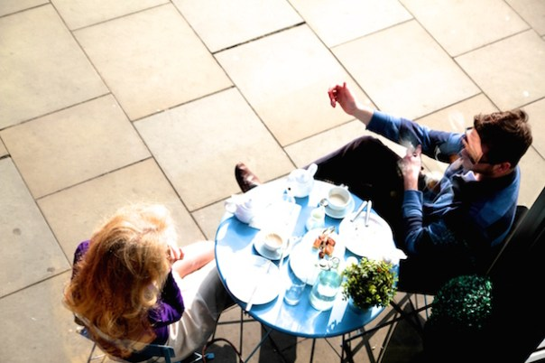 Alfresco dining at Bea's of Bloomsbury