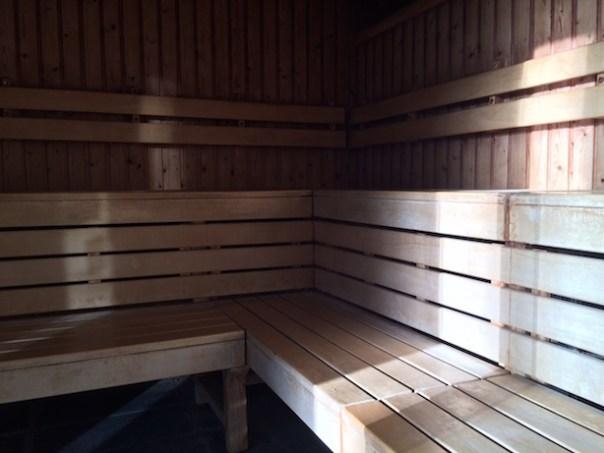 Sauna at Lifehouse Spa