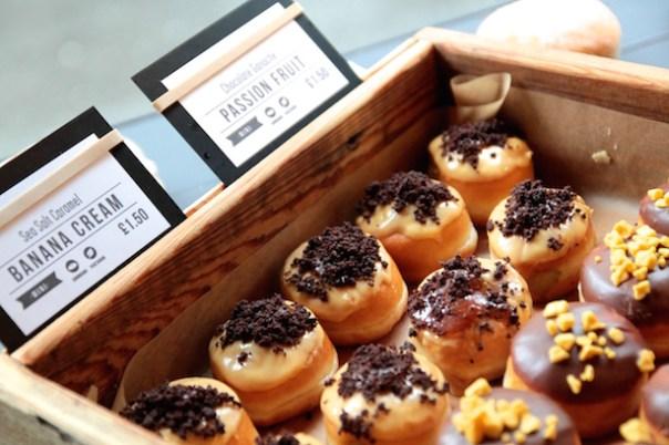 Mini Crosstown Doughnuts