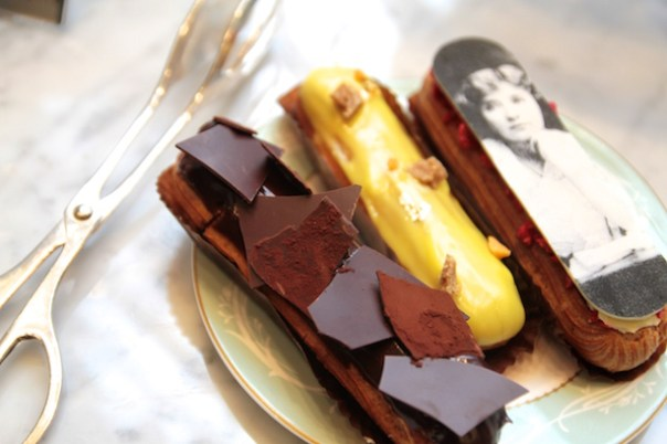 Eclairs from Melba at The Savoy