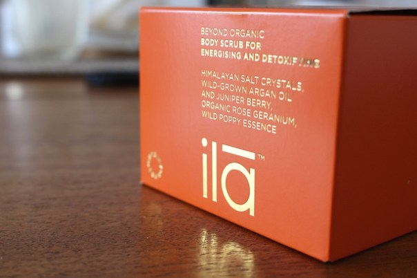 ila body scrub