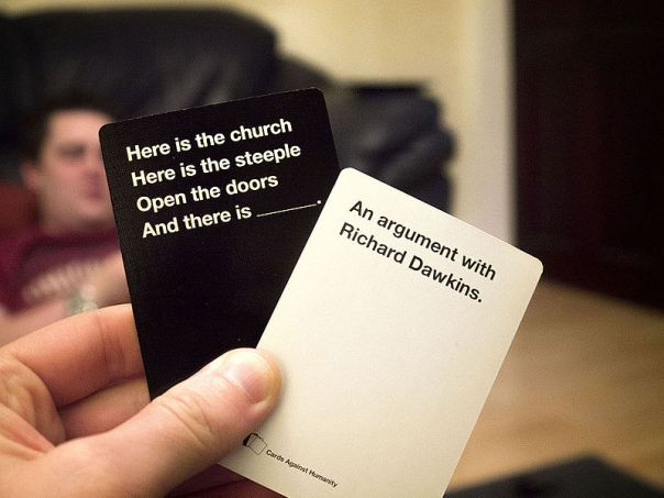 Cards Against Humanity at Board Games Cafe